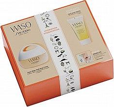 Profumi e cosmetici Set - Shiseido Clear Mega Hydrating Cream Set (f/cr/50ml+f/gel/30ml+eye/essence/0,3ml+f/primer/0,3ml+stickers)