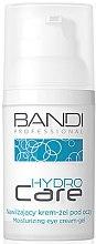 Profumi e cosmetici Crema-gel idratante per contorno occhi - Bandi Professional Hydro Care Moisturizing Eye Cream-Gel