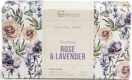 Profumi e cosmetici Sapone - IDC Institute Soothing Hand Natural Soap Rose & Lavender