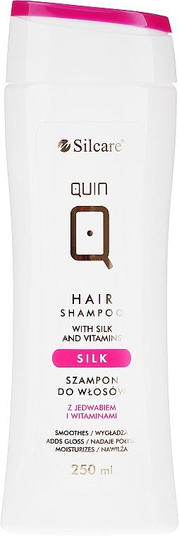 Shampoo alla seta e vitamine - Silcare Quin Silk & Vitamins Shampoo — foto N1