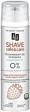 Profumi e cosmetici Gel da barba con estratto di fragola - AA Shave Safe & Care Strawberry Shaving Gel
