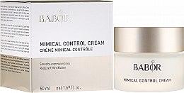 Profumi e cosmetici Crema-controllo rughe - Babor Mimical Control Cream
