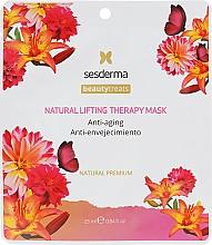 """Profumi e cosmetici Maschera naturale """"Terapia lifting"""" - SesDerma Laboratories Beauty Treats Natural Lifting Therapy Mask"""