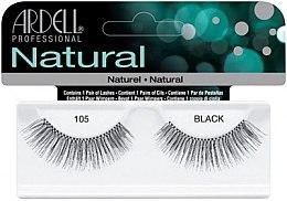 Profumi e cosmetici Ciglia finte - Ardell Natural Lashes Black 105