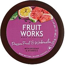 """Profumi e cosmetici Burro per il corpo """"Frutto della passione e anguria"""" - Grace Cole Fruit Works Body Butter"""