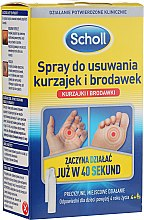 Profumi e cosmetici Spray per rimuovere verruche - Scholl Dandruff and Warts Removing Spray