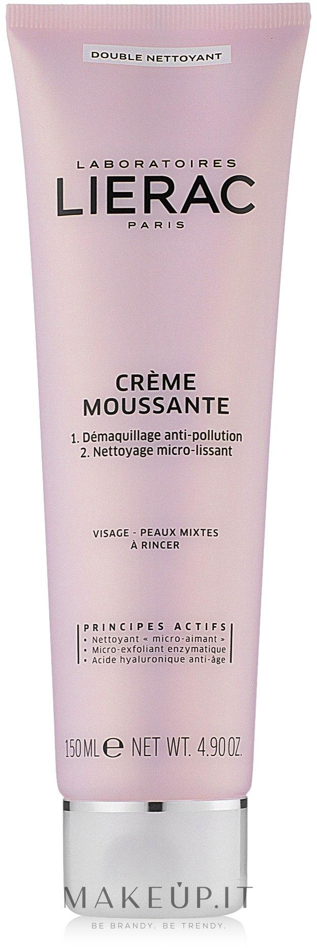 Crema Schiuma Detergente - Lierac Double Nettoyant Creme Moussante — foto 150 ml