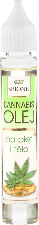 """Olio viso e corpo """"Canapa"""" - Bione Cosmetics Cannabis Face and Body Oil"""