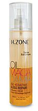 Profumi e cosmetici Olio per lucentezza dei capelli - H.Zone Macadamia-Gloss Repair