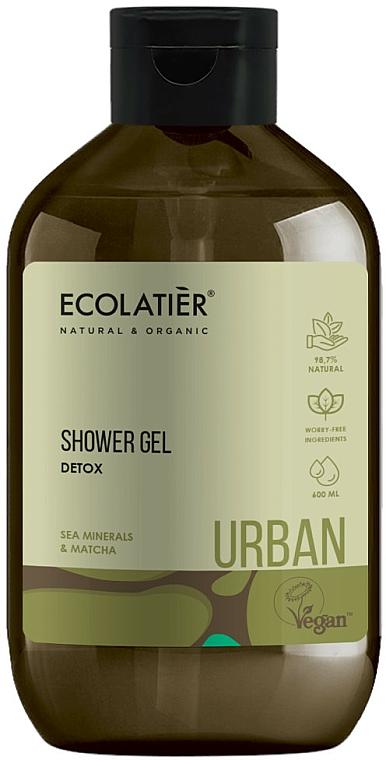 "Gel doccia ""Detox. Minerali Marini e Matcha"" - Ecolatier Urban Shower Gel"