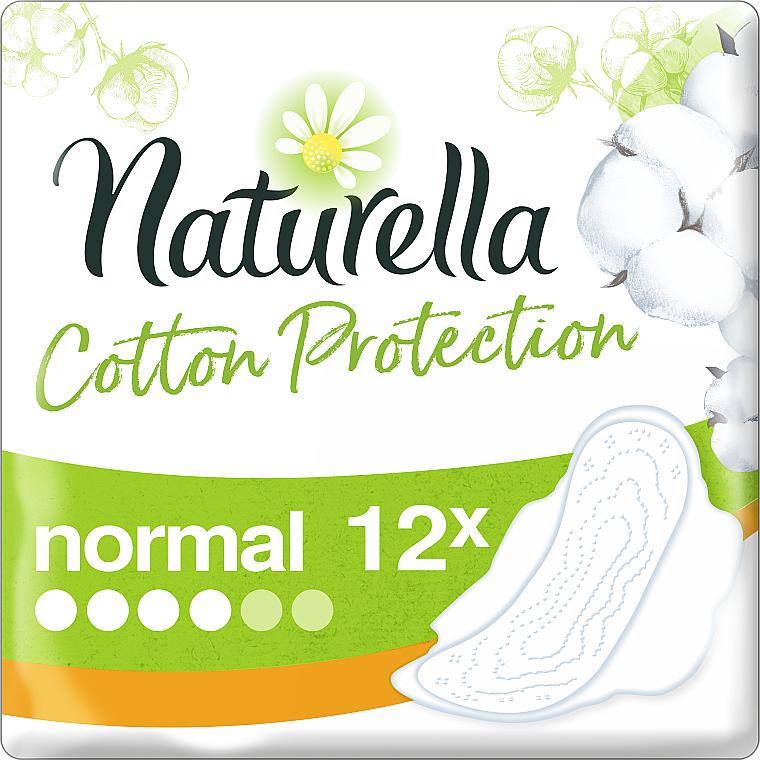 Assorbenti igienici 12pz - Naturella Cotton Protection Ultra Normal