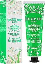 Profumi e cosmetici Crema mani - Institut Karite So Chic Hand Cream Lily Of The Valley