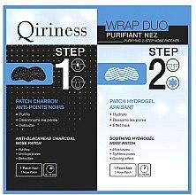 Profumi e cosmetici Patch naso - Qiriness Purifiant Nez 2-Step Nose Patches