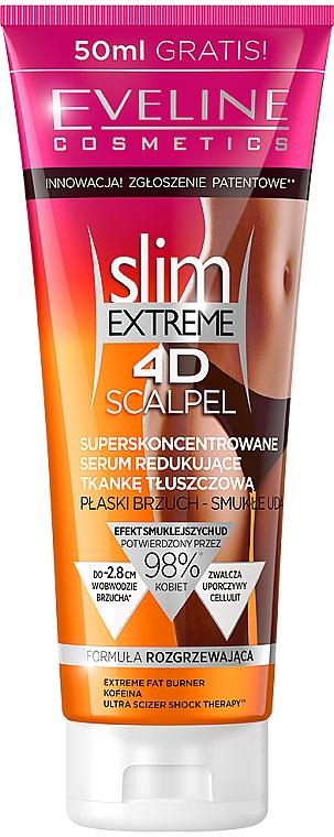 "Siero anticellulite ""Super Concentrato"" - Eveline Cosmetics Slim Extreme 4D Scalpel"