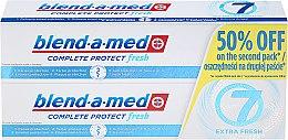 """Profumi e cosmetici Set di dentifricio """"Complesso 7"""" - Blend-a-med Complete 7 Extra Fresh"""
