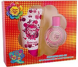 Profumi e cosmetici Chupa Chups Cherry Burst - Set (edt/50ml + sg/gel/150ml)