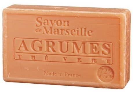 "Sapone naturale ""Agrumi e tè verde"" - Le Chatelard 1802 Soap Citrus Fruits & Green Tea — foto N1"
