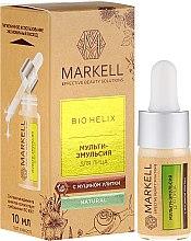 Profumi e cosmetici Siero viso alla bava di lumaca - Markell Cosmetics Bio-Helix Facial Multi-Emulsion With Snail Mucin