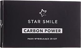 Profumi e cosmetici Strisce sbiancanti per i denti - Star Smile Carbon Power Whitening Strips