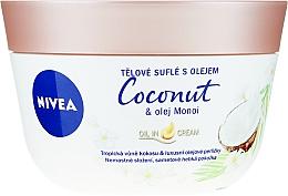 Profumi e cosmetici Soufflé corpo con cocco e olio Manoi - Nivea Body Souffle Coconut & Monoi Oil