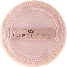 Profumi e cosmetici Cuscinetto per la cipria, 6494, beige - Top Choice