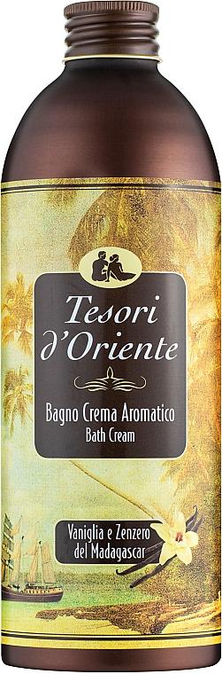Bagno crema - Tesori d`Oriente Vaniglia E Zenzero Del Madagascar