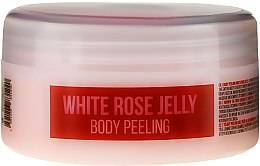 "Profumi e cosmetici Peeling corpo ""Rosa bianca"" - Hristina Stani Chef'S White Rose Jelly Body Peeling"