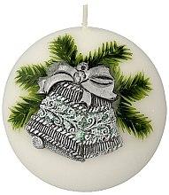 """Profumi e cosmetici Candela decorativa """"Palla. Campanella di Natale"""", 10 cm - Artman Christmas Bell Candle Ball"""