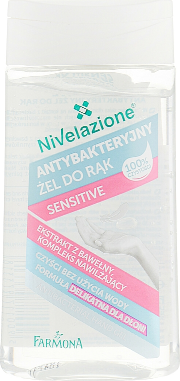 Gel antibatterico mani - Farmona Nivelazione Sensitive