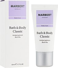 Profumi e cosmetici Deodorante roll-on - Marbert Bath & Body Classic Antiperspirant Roll-On