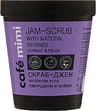 """Profumi e cosmetici Scrub-marmellata per corpo """"Ribes e Feijoa """" - Cafe Mimi Jam-Scrub With Natural Berries"""