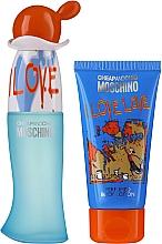 Profumi e cosmetici Moschino I Love Love - Set (edt/30ml + b/lot/50ml)