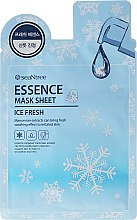 Profumi e cosmetici Maschera rinfrescante in tessuto - SeaNtree Ice Fresh Essence Mask Sheet