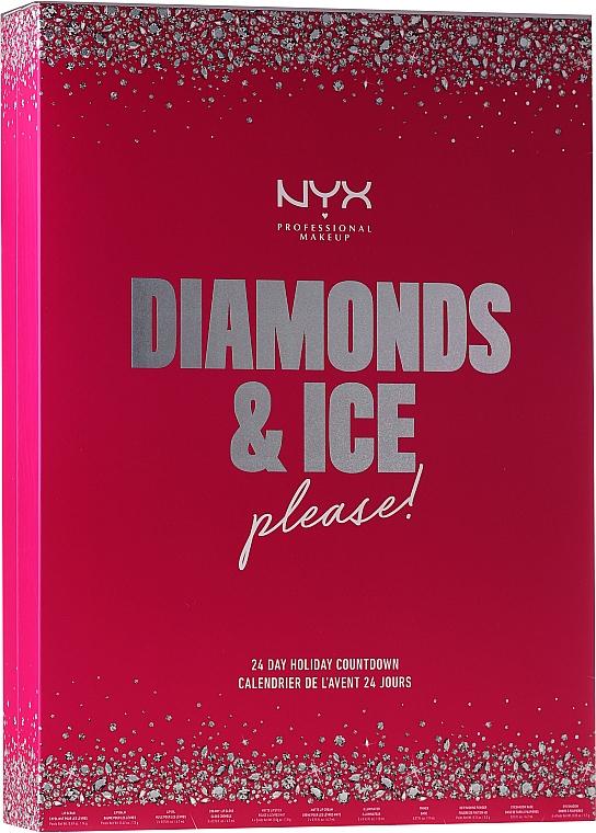 """Set """"Calendario di Natale"""" - NYX Professional Makeup Diamond & Ice Advent Calendar Makeup Set"""