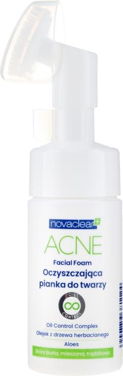 Schiuma detergente - Novaclear Acne Facial Foam