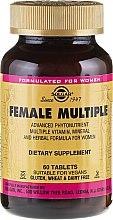 Profumi e cosmetici Integratore multivitaminico per donne - Solgar Female Multiple