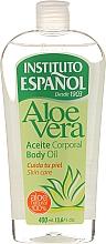"""Profumi e cosmetici Olio corpo """"Aloe vera"""" - Instituto Espanol Aloe Vera Body Oil"""