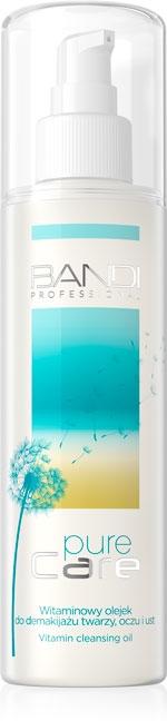 Olio detergente viso con vitamine - Bandi Professional Pure Care Vitamin Cleansing Oil