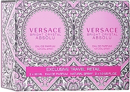 Profumi e cosmetici Versace Bright Crystal Absolu - Set (edp/2*30ml)