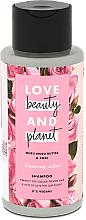 Profumi e cosmetici Shampoo per capelli colorati - Love Beauty&Planet Muru Muru Butter & Rose