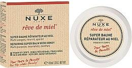 Profumi e cosmetici Lozione rivitalizzante viso e corpo al miele - Nuxe Rêve de Miel Repairing Super Balm With Honey