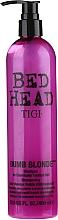 Profumi e cosmetici Shampoo per capelli decolorati e danneggiati - Tigi Bed Head Dumb Blonde Shampoo