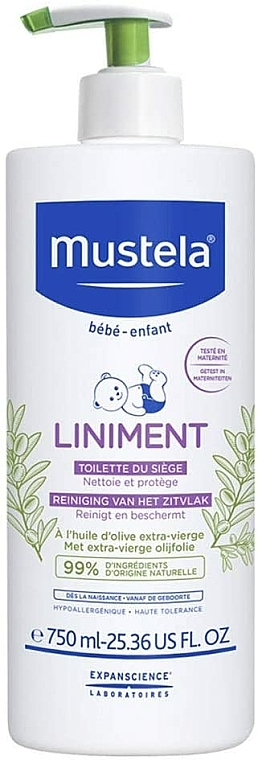 Cosmetico per cambio pannolino - Mustela Bebe Liniment
