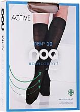 """Profumi e cosmetici Gambaletti con effetto massaggio plantare """"Active"""" 20 Den, visione - Knittex"""