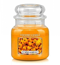 Profumi e cosmetici Candela profumata - Country Candle Pumpkin Harvest
