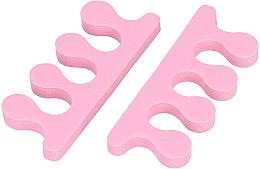 Profumi e cosmetici Separatori per le dita, rosa - Tools For Beauty Toe Separator Pink