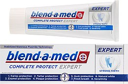 Profumi e cosmetici Dentifricio - Blend-a-med Complete Protect Expert Strong Teeth Toothpaste