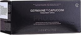 Profumi e cosmetici Set - Germaine de Capuccini Timexpert SRNS (f/cr/2x50ml)