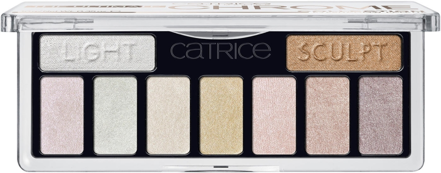 Palette ombretti occhi - Catrice The Ultimate Chrome Collection Eyeshadow Palette — foto N1