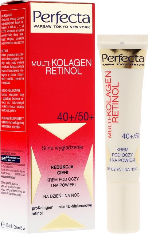 Crema contorno occhi - Dax Cosmetics Perfecta Multi-Collagen Retinol Eye Cream 40+/50+